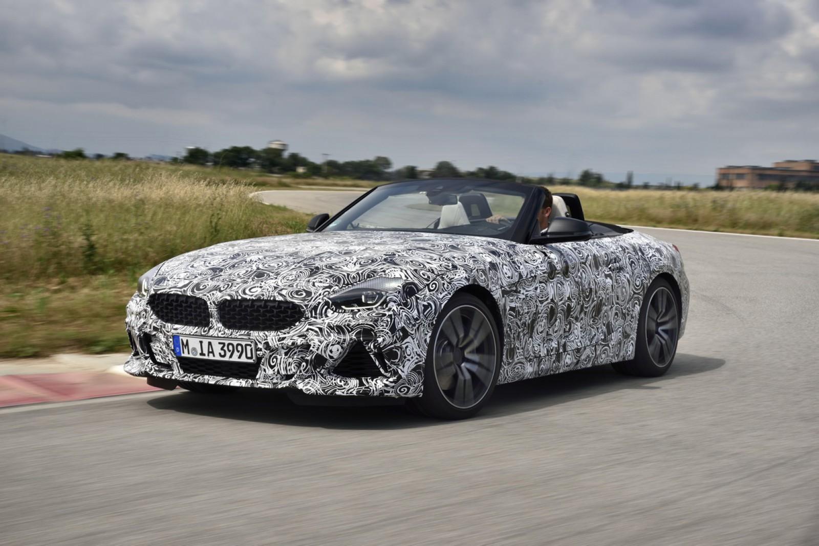(foto) Noul BMW Z4 debutează în acest an la Pebble Beach. Iată cum arată pe nişte schiţe brevetate