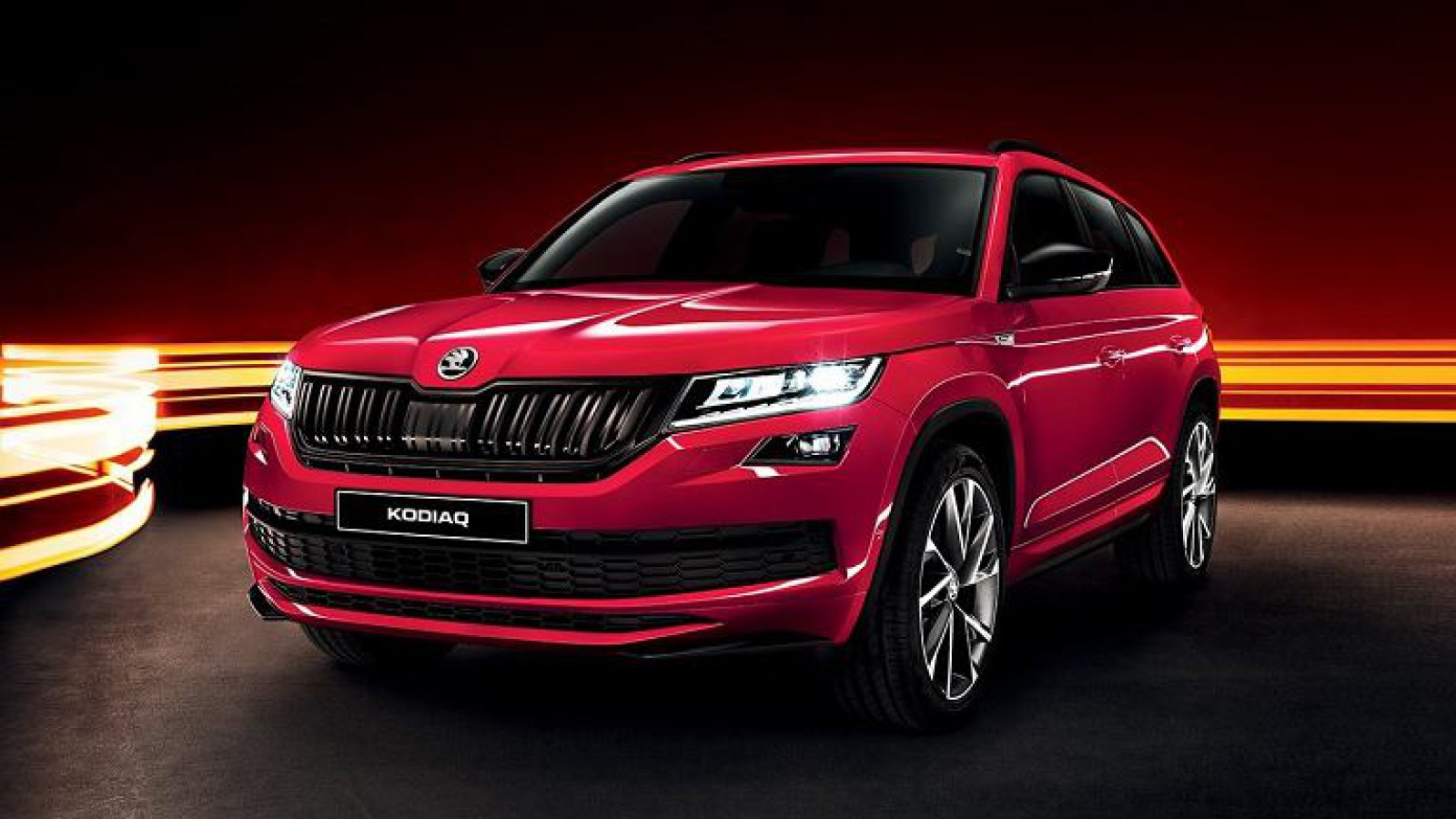 (foto) Noul Skoda Kodiaq RS va fi prezentat la Salonul Auto de la Paris. Primele imagini teaser