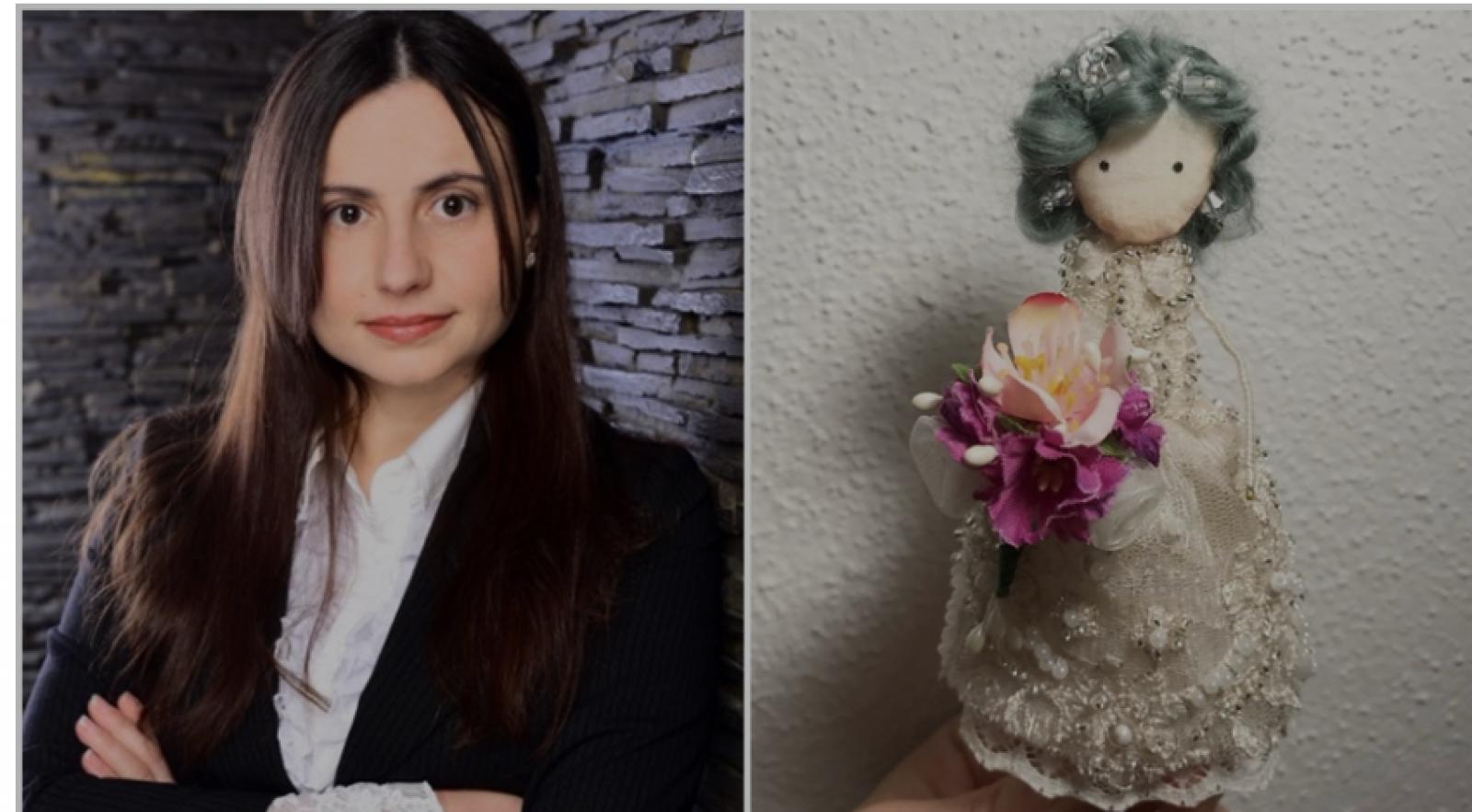 (foto) O orheiancă stabilită în Germania, meșteriță talentată care creează păpuși mici pentru oameni mari