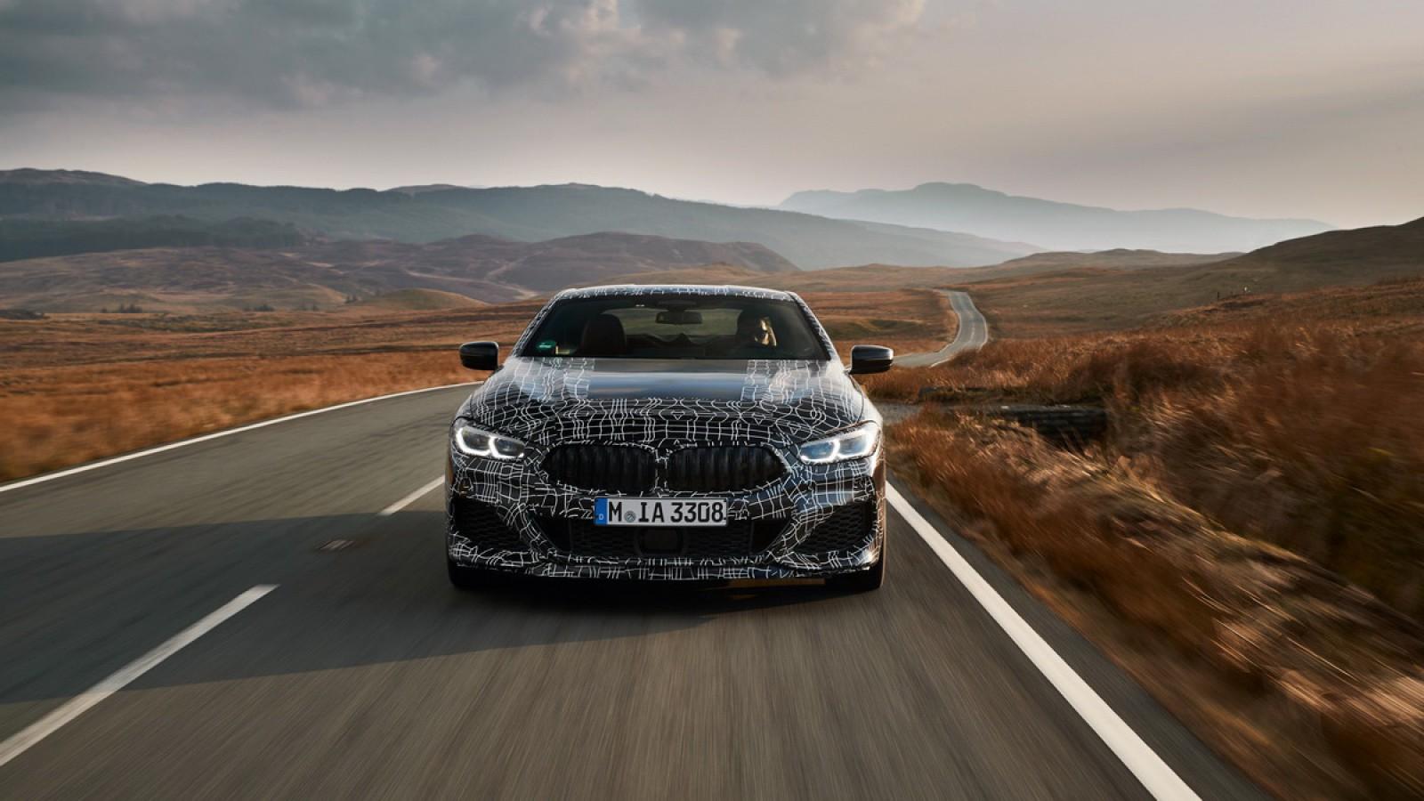 (foto) Oficial! Noul BMW Seria 8 Coupe va fi prezentat peste o lună. Primul teaser