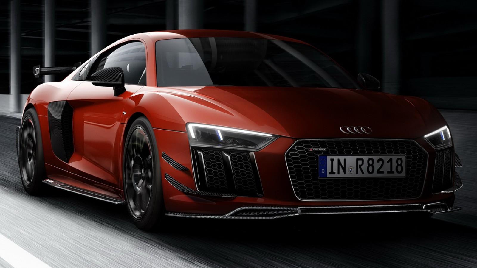 (foto) Premieră la Goodwood: Audi R8 V10 Plus Audi Sport Performance Parts