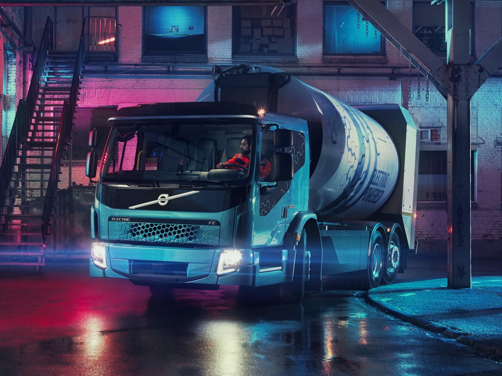 (foto) Premieră mondială: Al doilea camion electric al Volvo Trucks – noul FE Electric