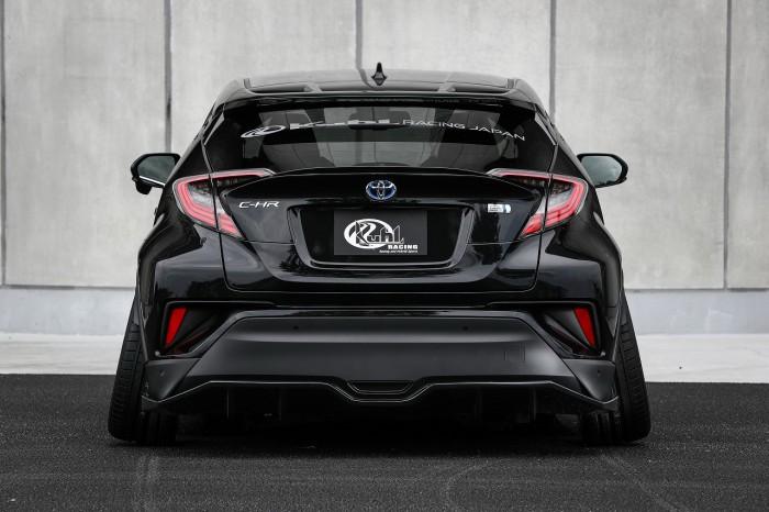 (foto) Toyota C-HR primeşte un program de tuning de la Kuhl Racing