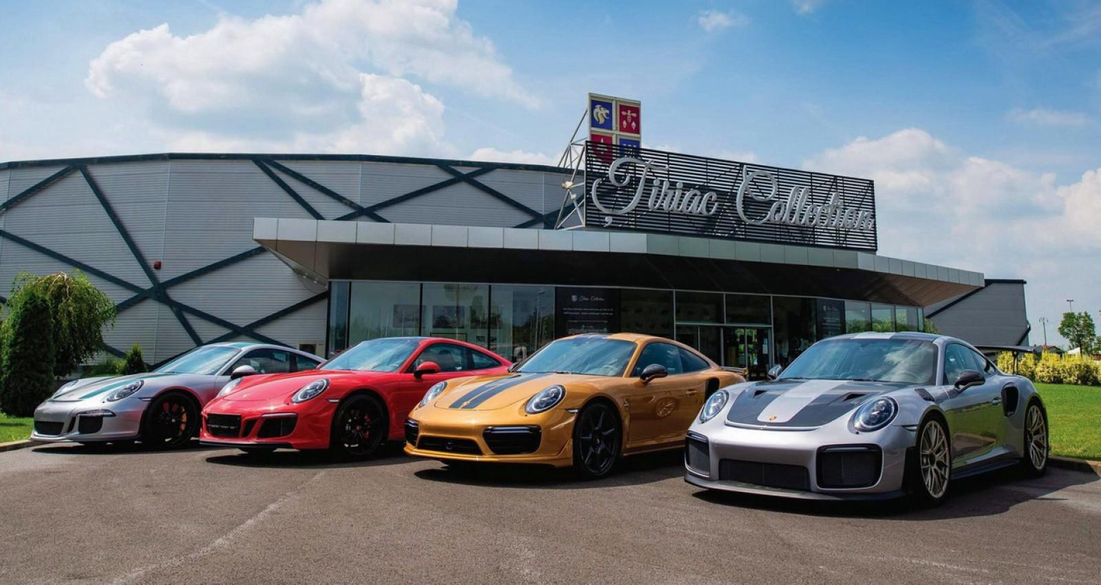 (foto) Trei maşini noi şi exclusive, toate marca Porsche, au completat colecţia lui Ion Ţiriac