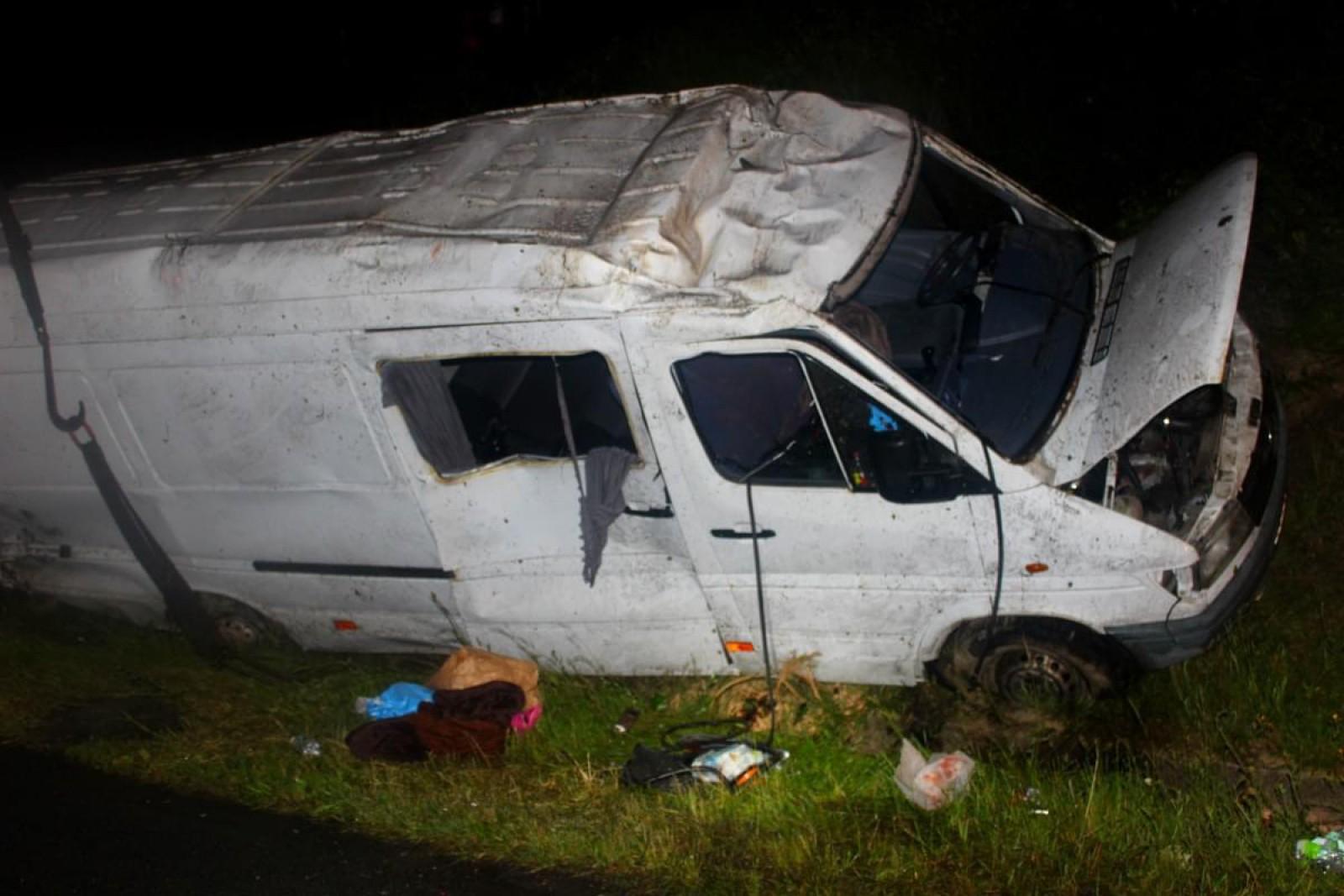 (foto/video) Accident în Cehia cu implicarea unui microbuz cu moldoveni: Opt conaționali, spitalizați