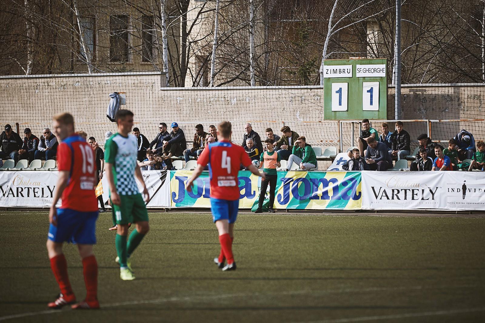 (foto/video) Ghinion pentru Zimbru Chișinău. Galben-verzii au fost la un pas de prima victorie în Campionat