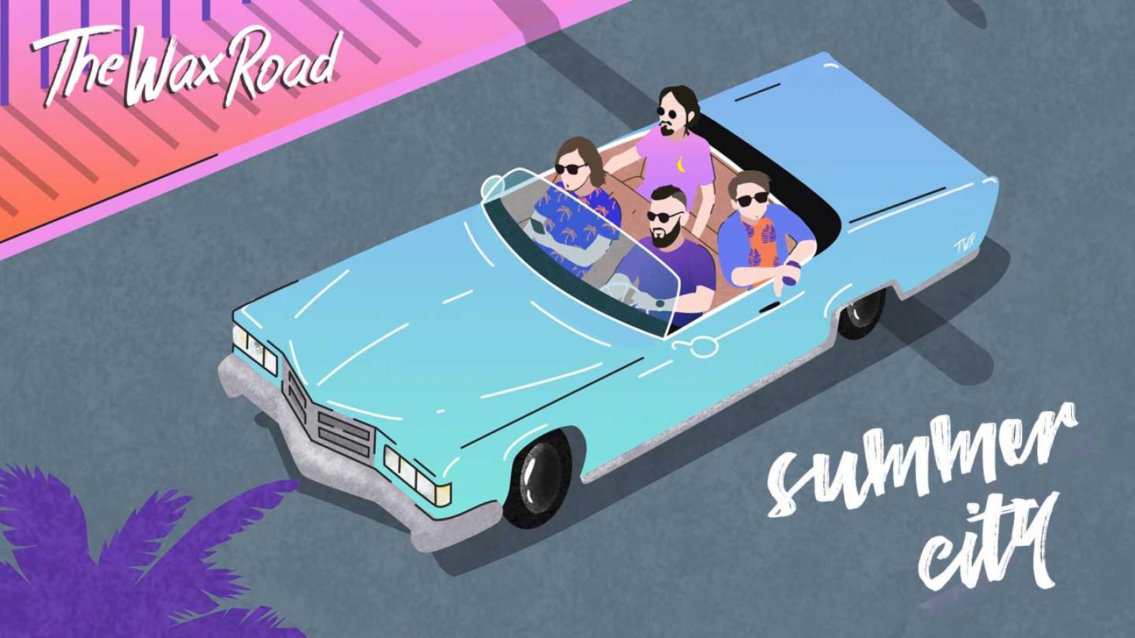 (foto/video) Trupa din Moldova, The Wax Road revine cu o nouă piesă de vară, Summer City