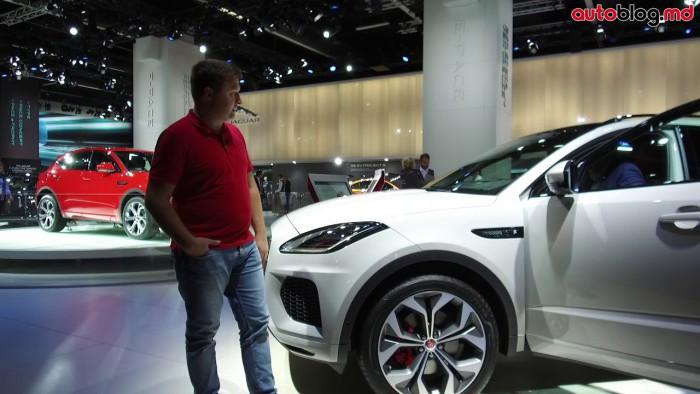 Frankfurt 2017: Standul Jaguar – Reportaj Video AutoBlog.MD