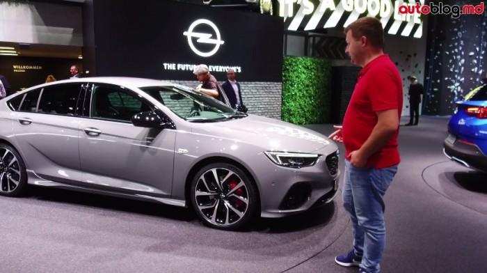 Frankfurt 2017: Standul Opel – Reportaj Video AutoBlog.MD