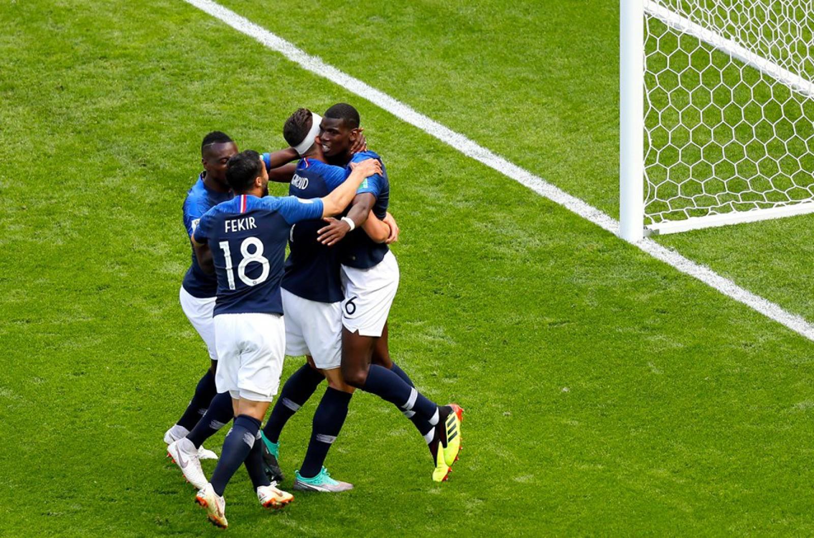 Franța 2-1 Australia: Paul Pogba a marcat golul victoriei pentru naționala