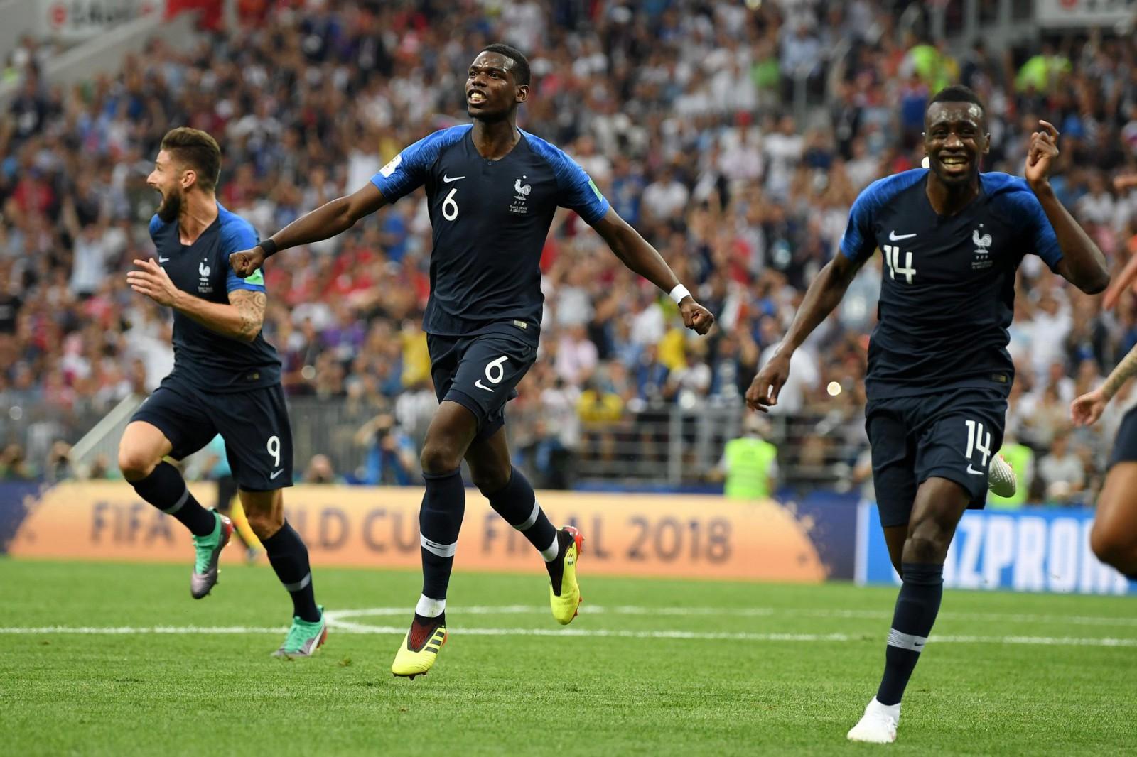 Franța este noua campioană mondială! Echipa antrenată de Didier Deschamps a învins în finală Croația