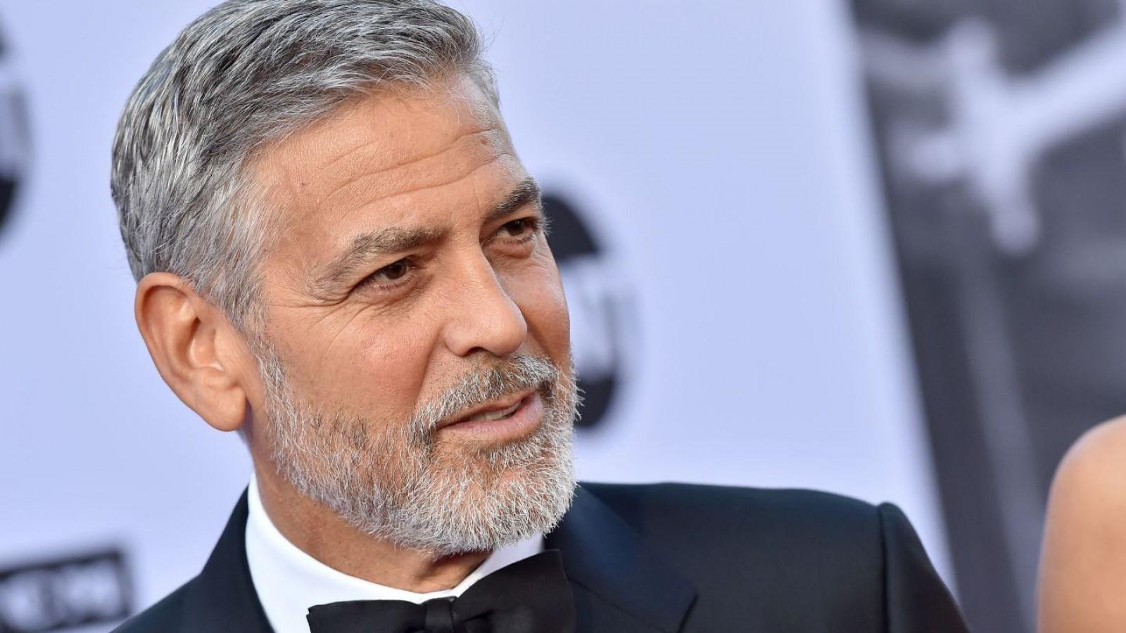 George Clooney, implicat într-un accident rutier în Italia. Starea actorului