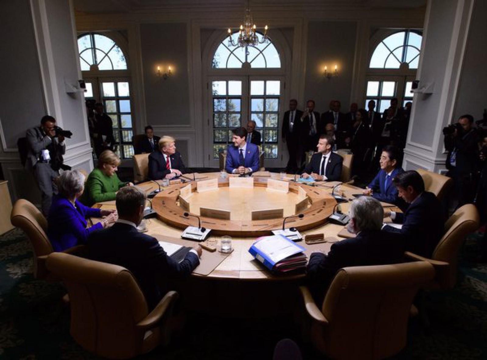 Germania şi Franţa critică retragerea SUA din declaraţia comună a membrilor G7