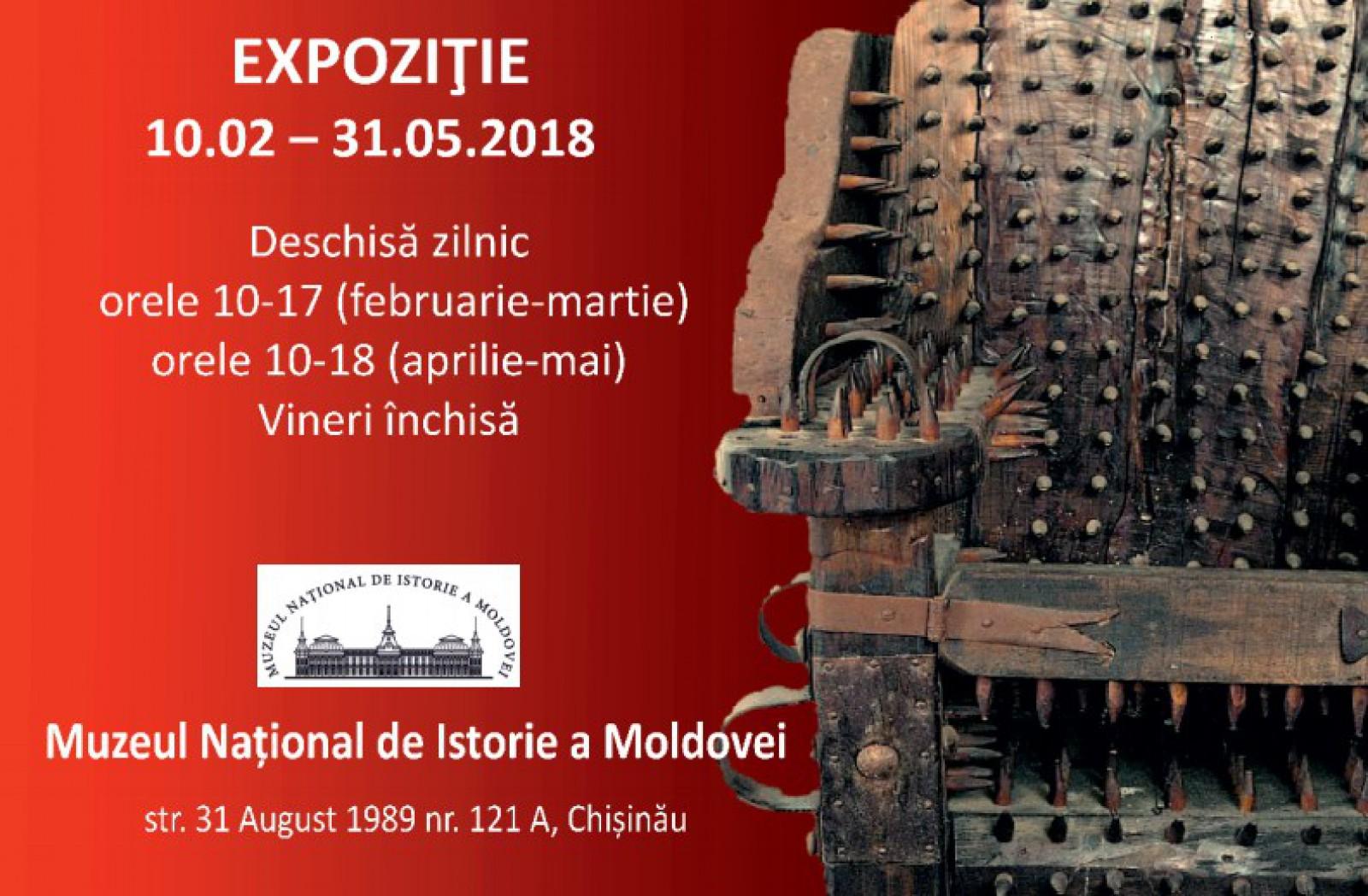 Gustul cruzimii de-a lungul secolelor. Expoziție de instrumente medievale de tortură la Chișinău