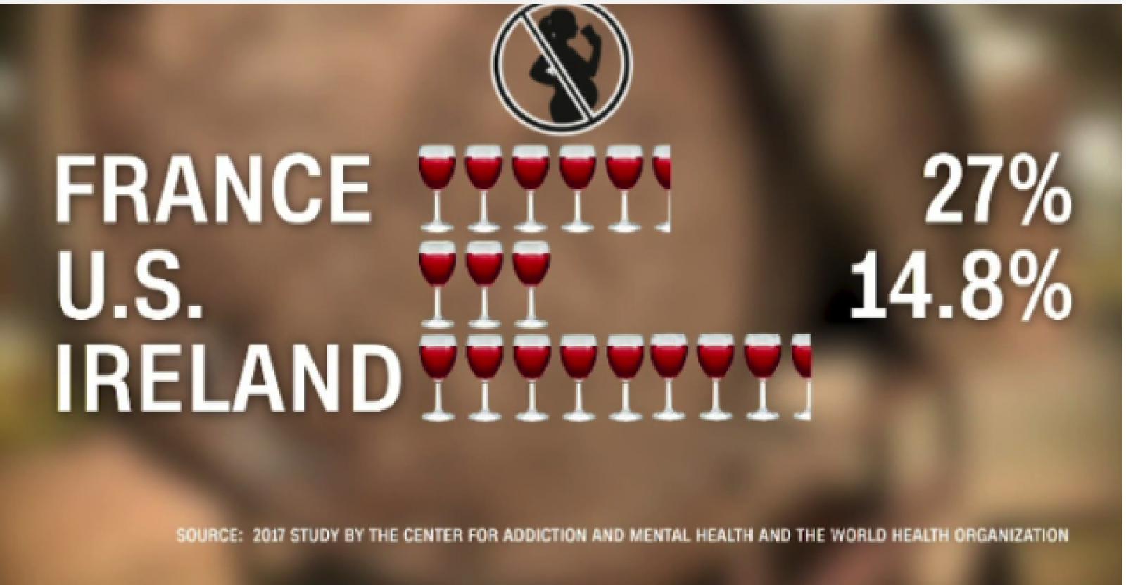 Guvernul francez vrea etichete care să avertizeze împotriva consumului de vin de către femeile însărcinate