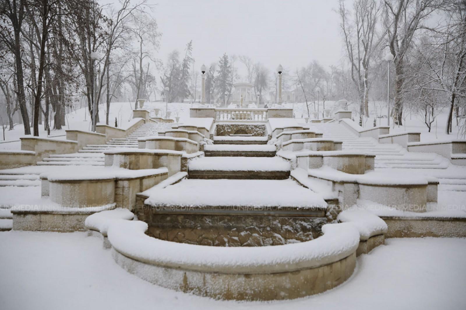 Iarna prinde la puteri: Revin ninsorile în săptămâna ce urmează, iar mercurul din termometre va scădea până la -3 grade