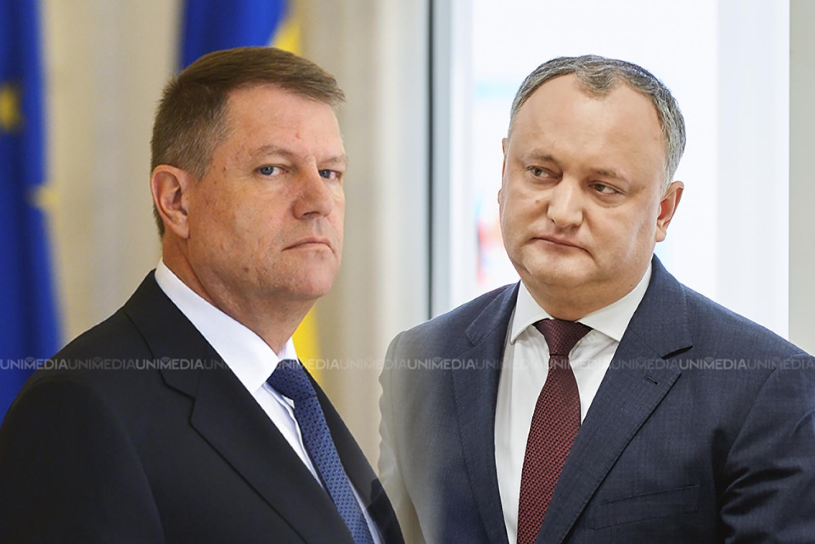 """Ieri pe Putin, azi pe Iohannis. Igor Dodon felicită președintele României cu ocazia zilei de naștere: """"Avem la bază afinități culturale, lingvistice și istorice"""""""