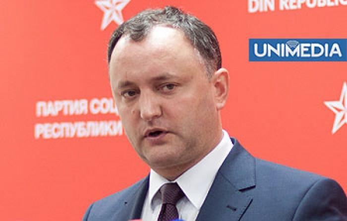 Igor Dodon a plecat la Moscova de unde critică dur vizita parlamentarilor europeni