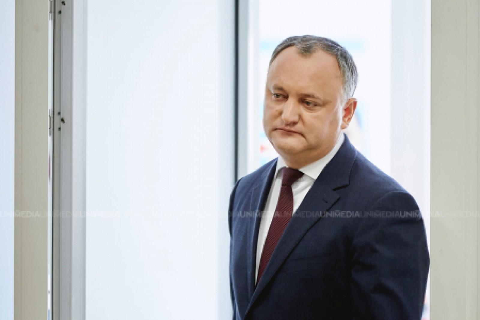 Igor Dodon anunță programul evenimentului de Ziua Victoriei și a comemorării eroilor căzuți pentru Independența Patriei