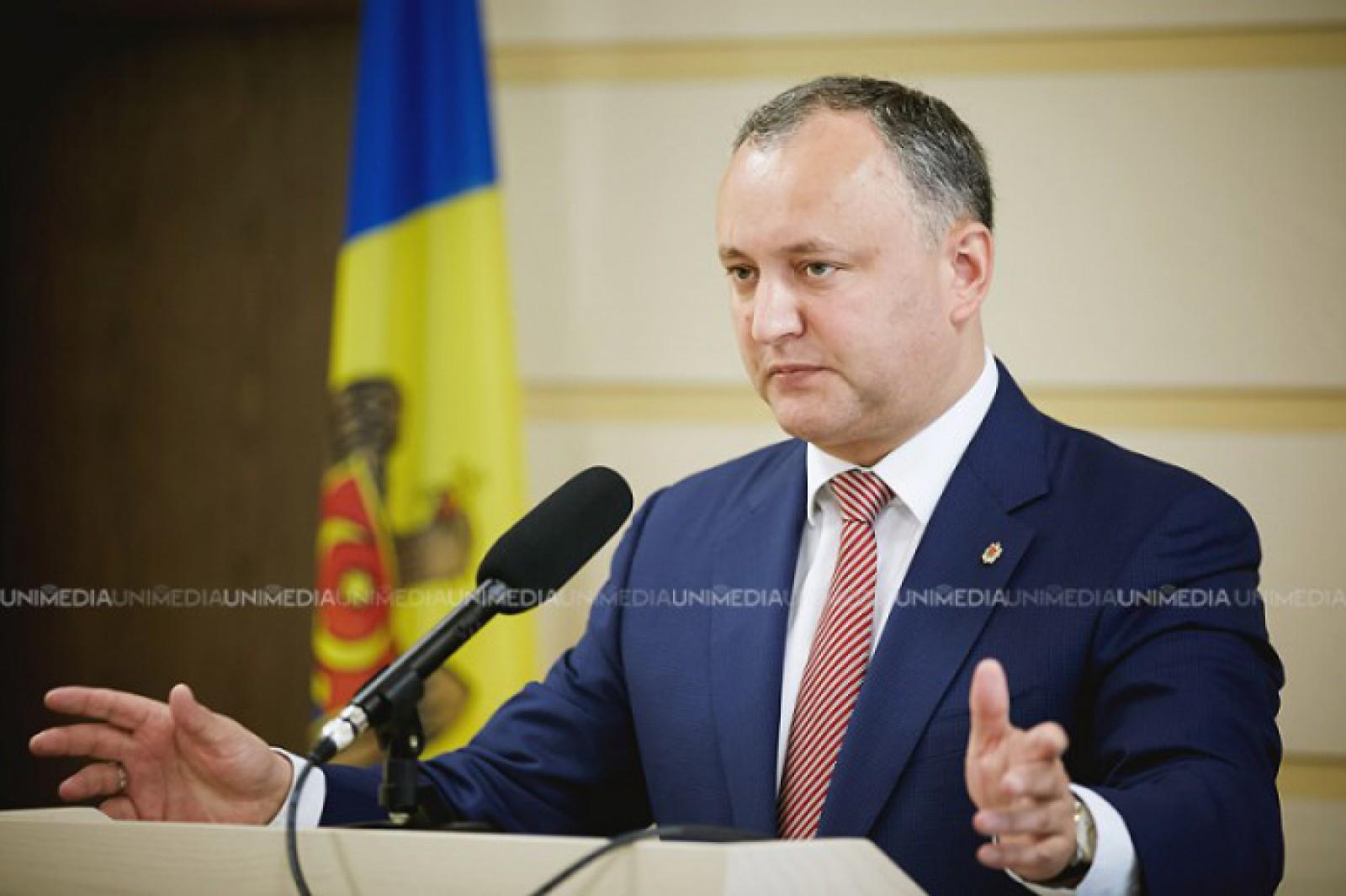 """Igor Dodon dă undă verde proiectului privind Amnistia Fiscală: """"Voi promulga acest pachet de legi, cu toate oportunitățile și eventualele riscuri"""""""