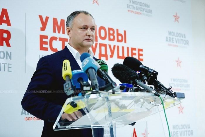 Igor Dodon dezminte informațiile precum că l-ar fi așteptat patru ore pe Vladimir Putin
