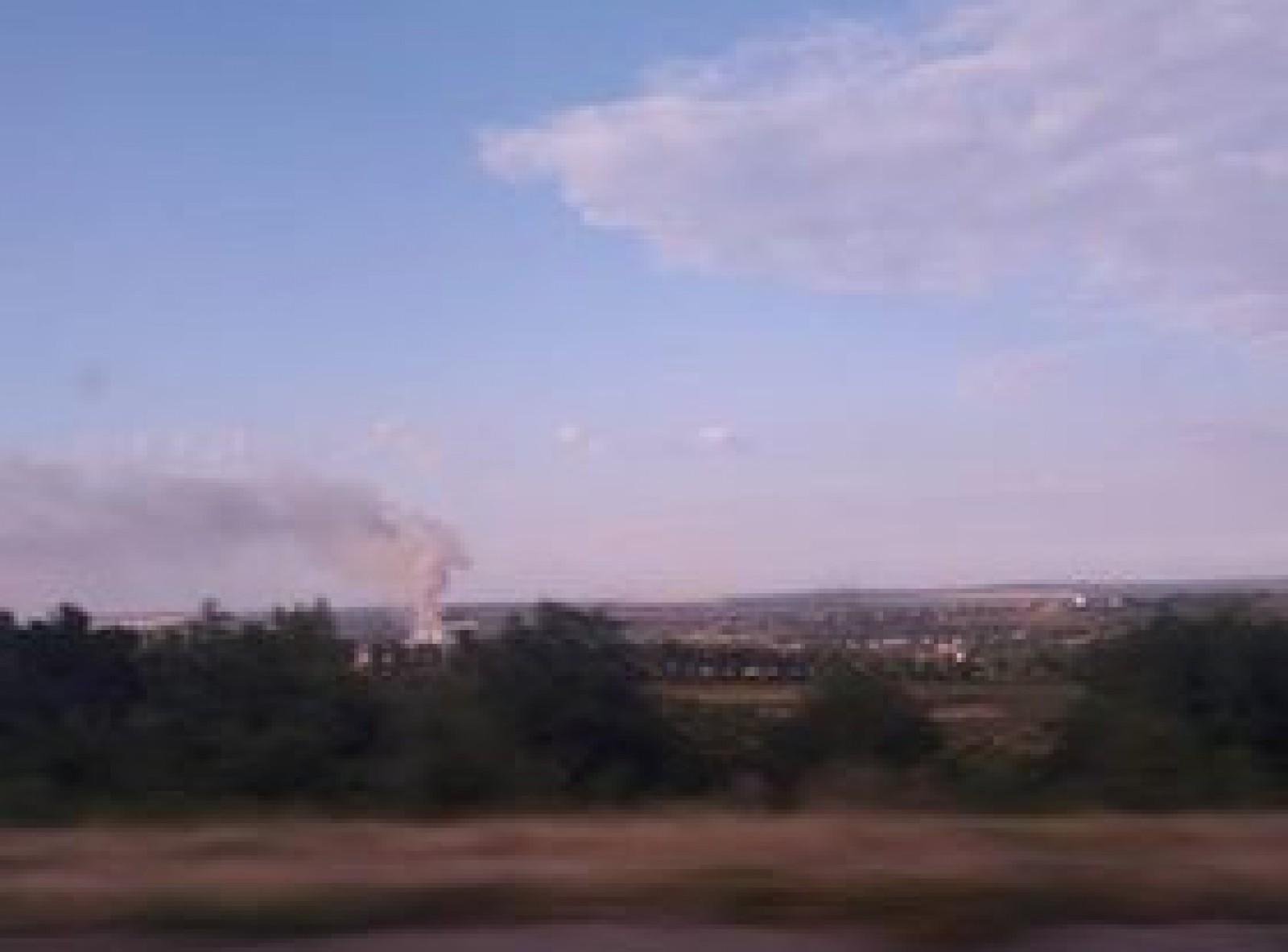 Incendiu puternic la Porumbeni: O gunoiște a fost cuprinsă de flăcări