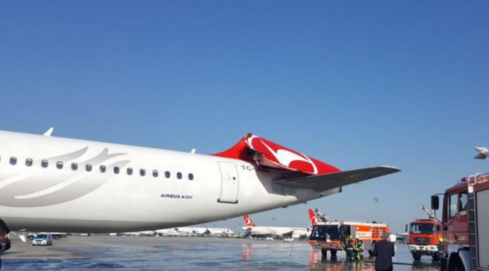 Incident aviatic pe Atatürk. Două aeronave de pasageri s-au ciocnit în timpul rulării pe o pistă a aeroportului din Istanbul