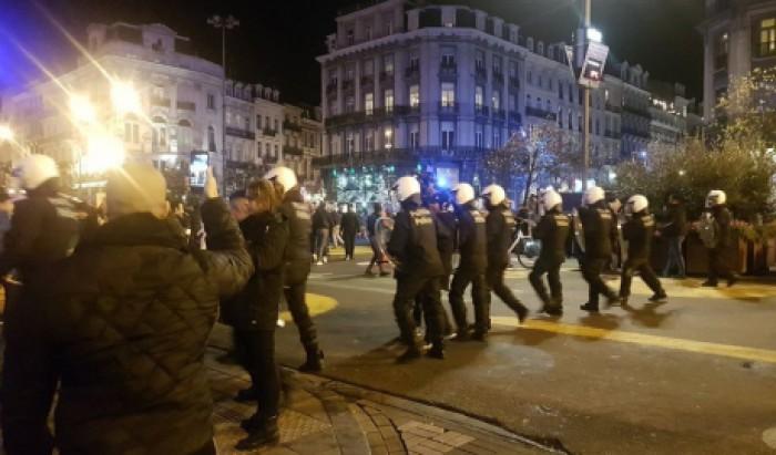 Incidente la Bruxelles după calificarea Marocului la CM-2018