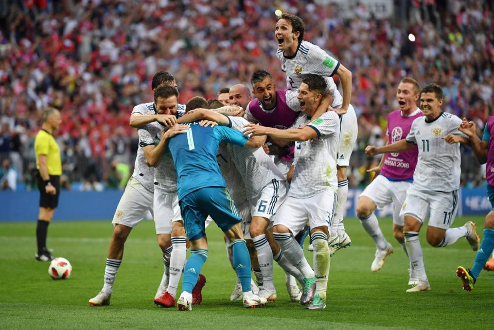 Incredibil, dar adevărat! Naționala Rusiei a eliminat-o pe Spania și s-a calificat în sferturile Campionatului Mondial