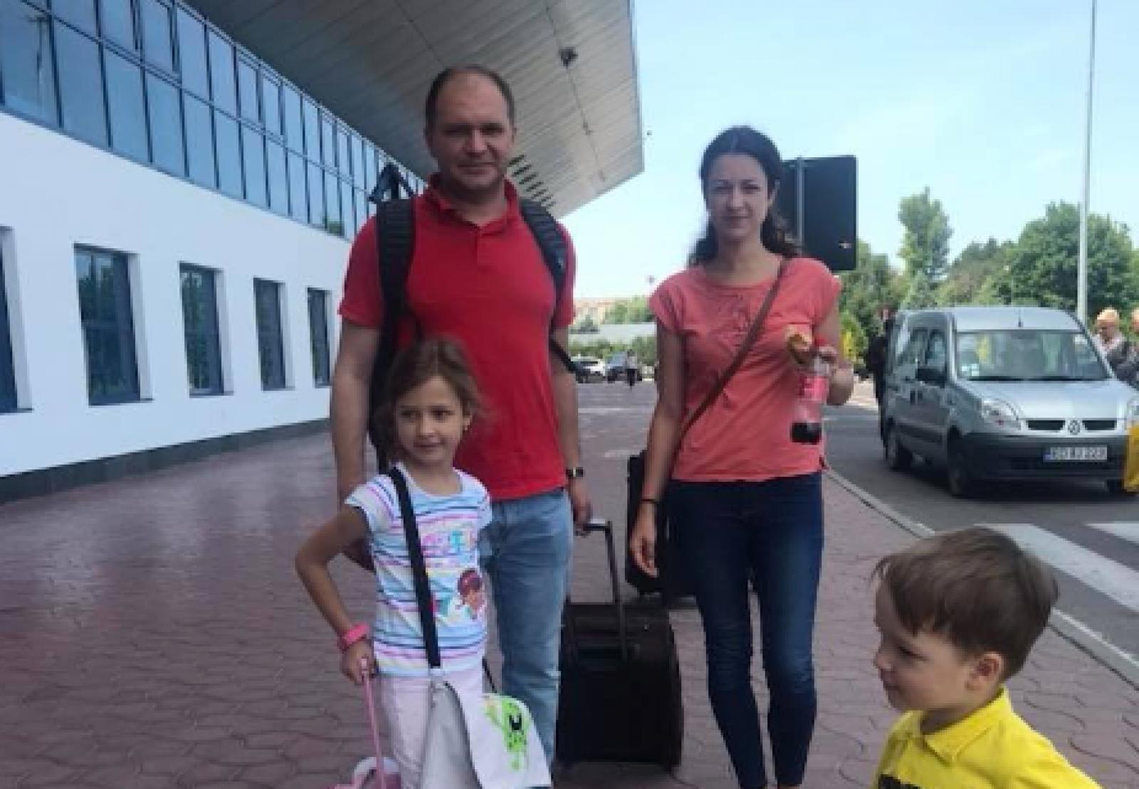 Ion Ceban a plecat în vacanță cu familia. Ce destinație a ales socialistul