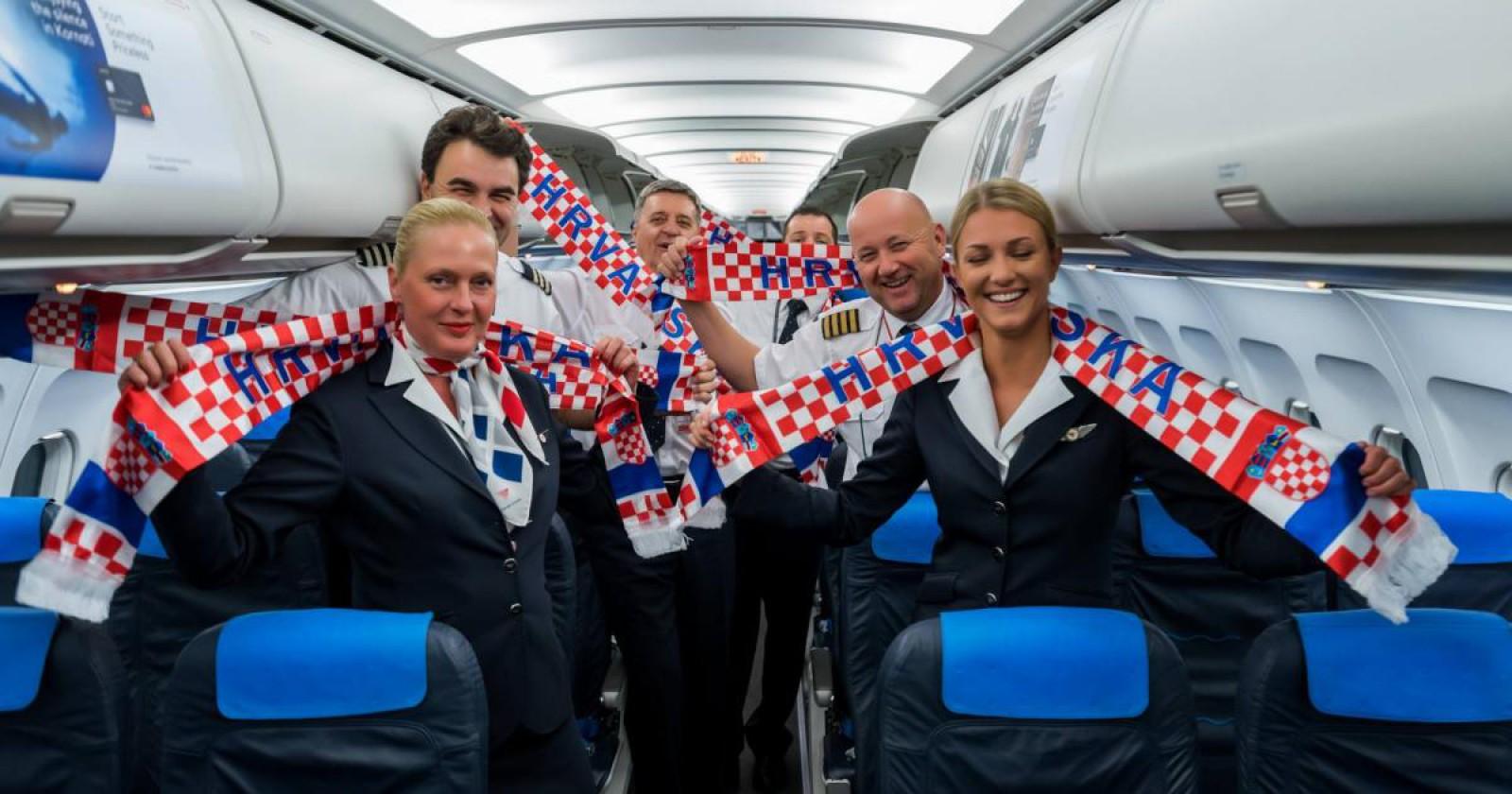 Ironia companiei aeriene a Croației la adresa Angliei, după victoria din semifinalele CM 2018