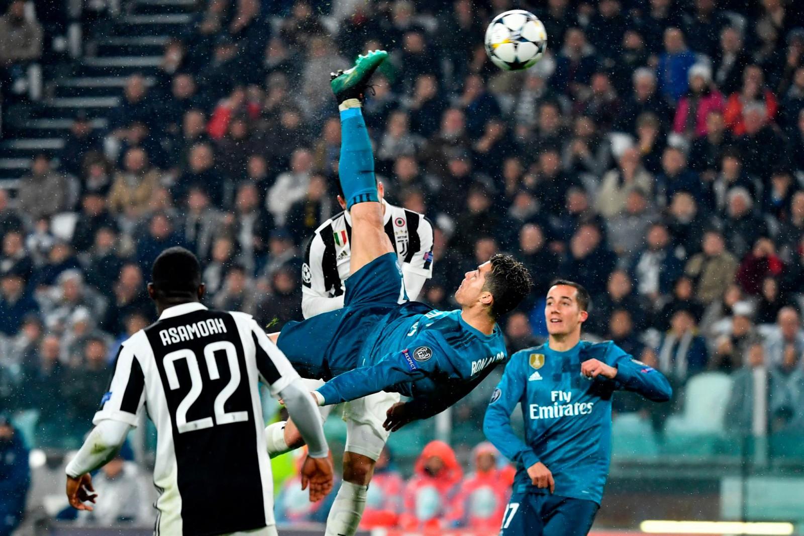 Juventus 0-3 Real Madrid: Portughezul Cristiano Ronaldo a marcat un gol fabulos la Torino