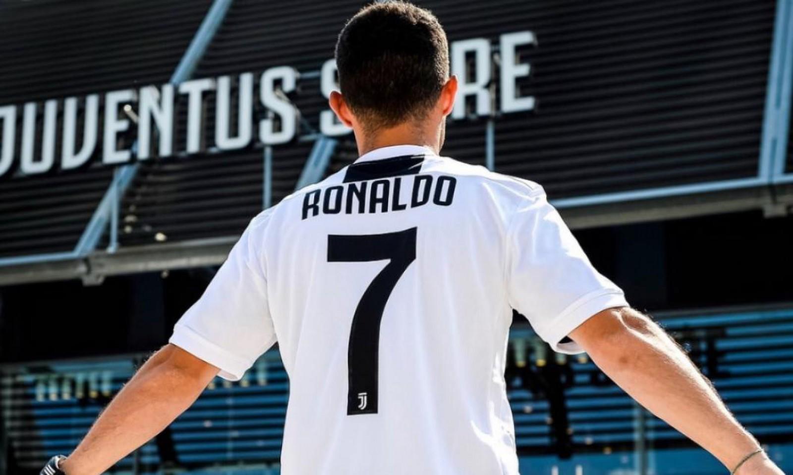 Juventus a vândut în timp-record toate tricourile cu numele lui Cristiano Ronaldo