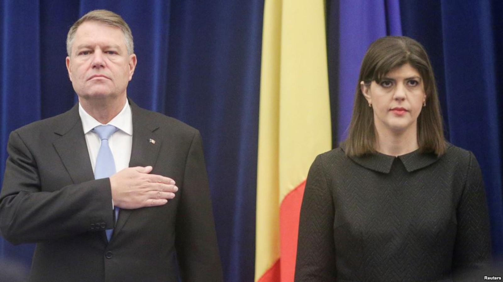 """Klaus Iohannis motivează revocarea Laurei Codruţa Kovesi: """"Eu respect statul de drept și Constituţia"""""""