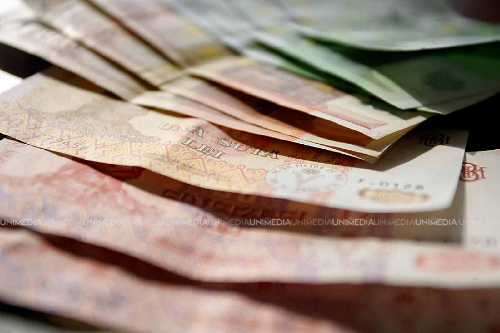 Leul moldovenesc se apreciază faţă de moneda unică europeană