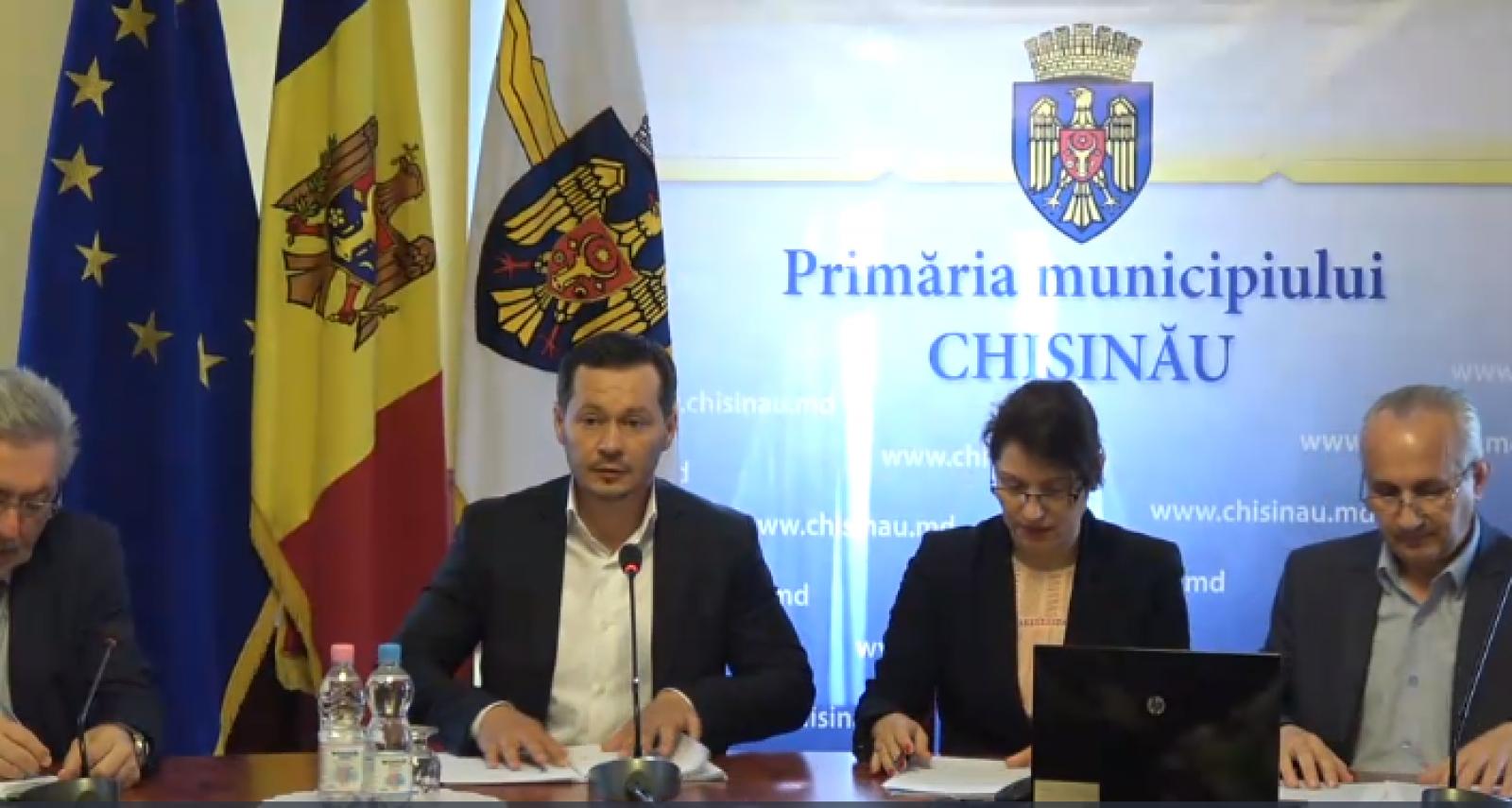 (video) Ședința săptămânală a serviciilor primăriei Chișinău din 21 mai 2018