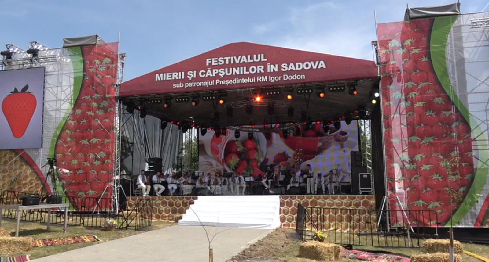 (video/update) Festivalul Căpșunilor și Mierii marca Igor Dodon