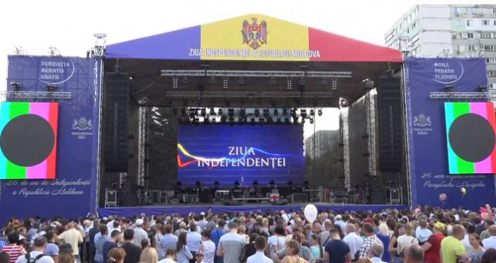 (video) Concert la Bălți cu ocazia Zilei Independenței: Pe scenă a urcat Sofia Rotaru