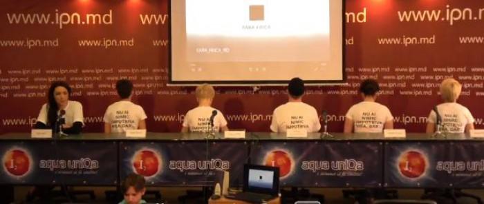 """(video) Conferinţă de presă despre Marşul de solidaritate """"Fără Frică"""""""