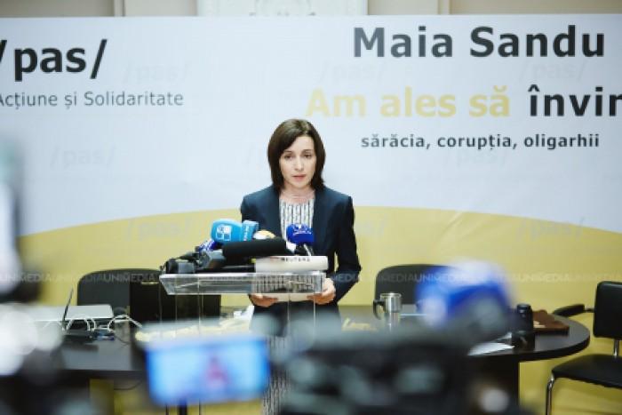 """(video) Maia Sandu: """"Cei de la guvernare au redus rolul Comisiei de la Veneția la rangul de secție juridică al unui comitet raional de partid"""""""