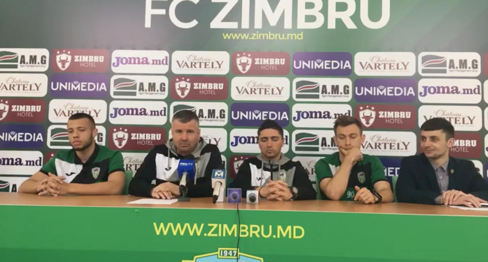 (video) Conferința FC Zimbru înaintea debutului de Campionat în noul sezon: Ne propunem să jucăm un fotbal frumos și atunci, vor veni și rezultate