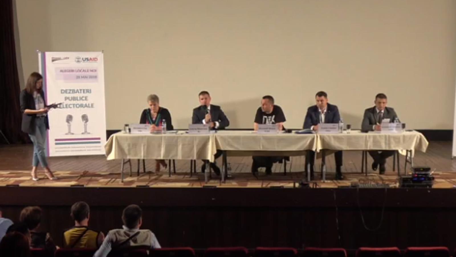 (video) Dezbateri publice electorale organizate de Promo-LEX în mun. Chișinău (I rundă)