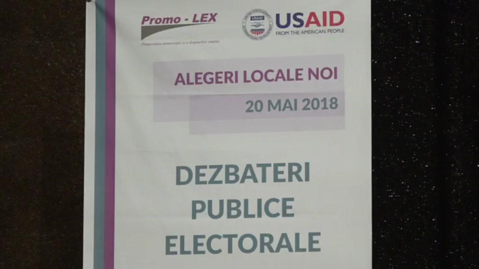(video/update) Dezbateri publice electorale pentru Primăria municipiului Bălți