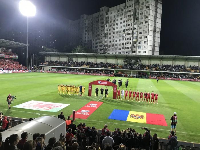 (live) Moldova - Țara Galilor 0:2. Galezii înscriu în minutul 80 prin Robson-Kanu și în prelungiri prin Aaron Ramsey
