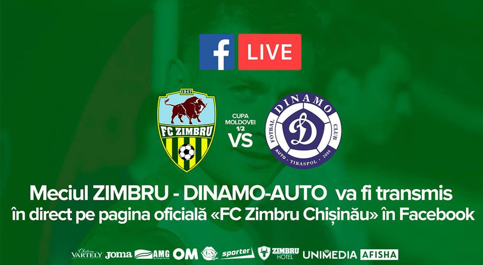 (video) Zimbru Chișinău s-a calificat dramatic în finala Cupei Moldovei! Galben-verzii au învins la penalty-uri echipa Dinamo-Auto