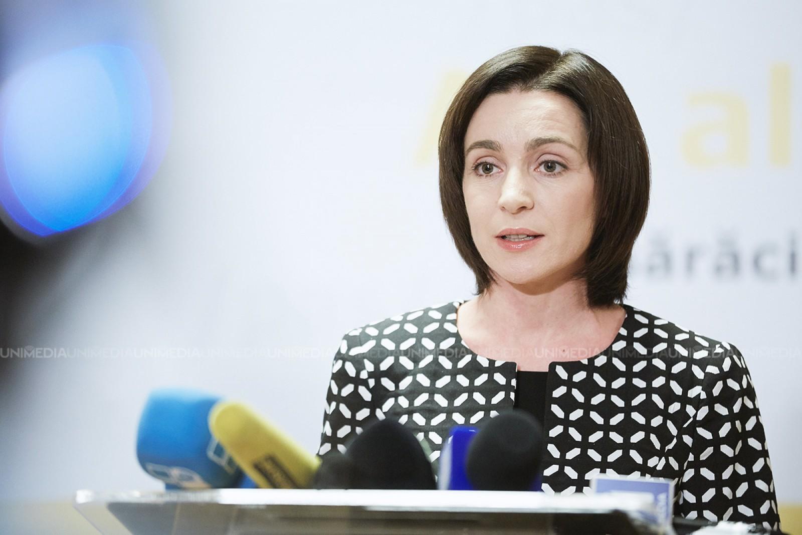 Maia Sandu, despre invalidarea alegerilor: Justiția controlată de Plahotniuc a luat cea mai criminală decizie la adresa democrației din Moldova