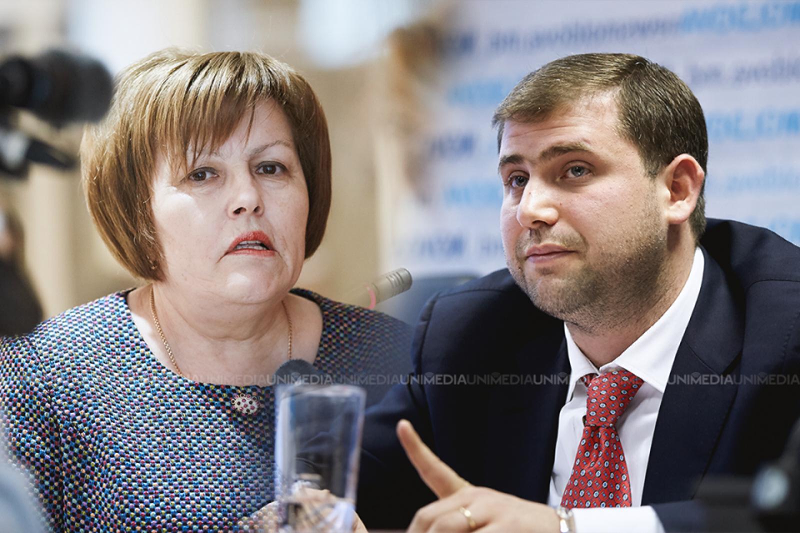 """Maria Ciobanu reacționează la declarațiile lui Șor privind retragerea mandatelor deputaților PLDM: """"Penalului Șor îi tremură genunchii și încă altceva"""""""