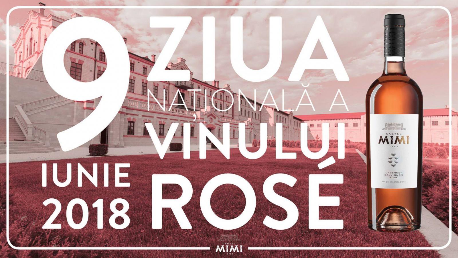 Medalie de Argint pentru Vinul Rosé Castel Mimi, în ajunul Zilei Naționale a Vinului Rosé, de pe 9 iunie 2018