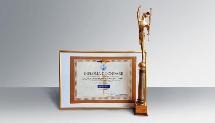 """Moldtelecom a primit """"Mercuriul de Aur"""" pentru încrederea consumatorilor și contribuția majoră la dezvoltarea economiei țării"""