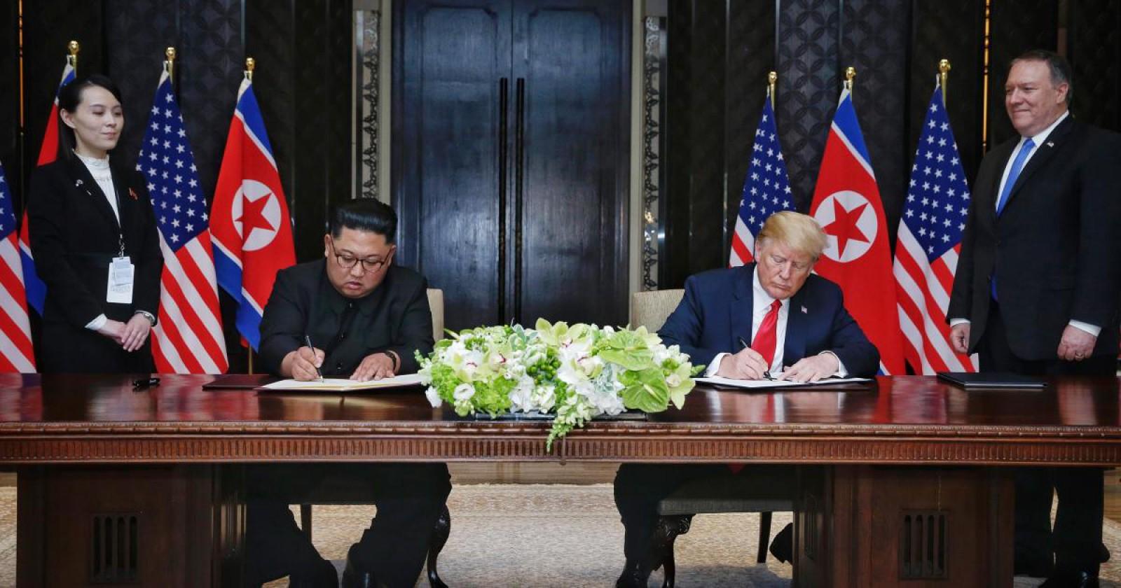 Motivul pentru care Kim Jong-un a refuzat să scrie cu stiloul americanilor
